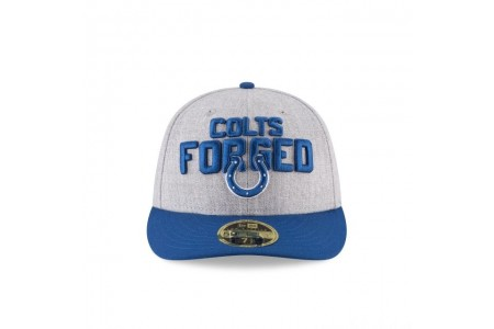INDIANAPOLIS COLTS NFL DRAFT ON STAGE LOW PROFILE 59FIFTY FITTED