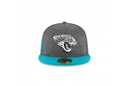 JACKSONVILLE JAGUARS GRAPHITE SIDELINE HOME 59FIFTY FITTED - Sale