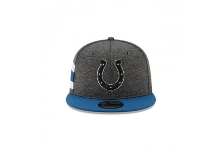 INDIANAPOLIS COLTS GRAPHITE SIDELINE HOME 9FIFTY SNAPBACK - Sale