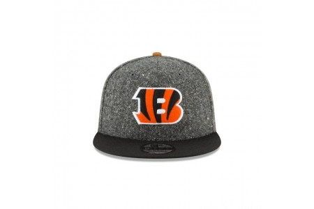 CINCINNATI BENGALS SUEDE ON TWEED 9FIFTY STRAPBACK