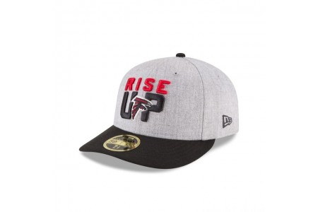 ATLANTA FALCONS NFL DRAFT ON STAGE LOW PROFILE 59FIFTY FITTED - Sale