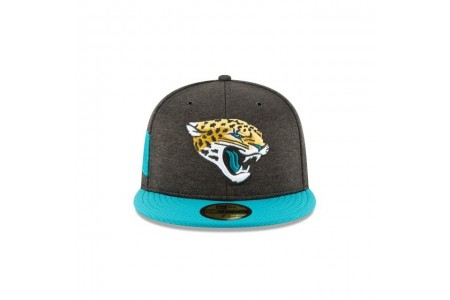 JACKSONVILLE JAGUARS OFFICIAL SIDELINE HOME 59FIFTY FITTED - Sale