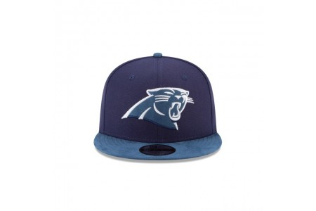 CAROLINA PANTHERS TONAL CHOICE NAVY 9FIFTY SNAPBACK