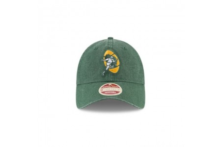 GREEN BAY PACKERS CLASSIC WASH 9TWENTY ADJUSTABLE