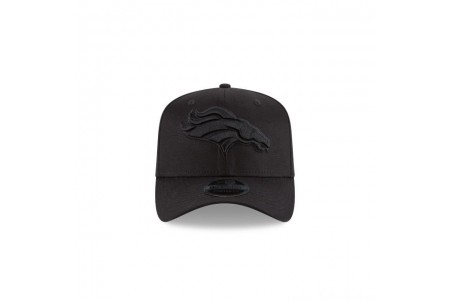 Black Friday Sale - DENVER BRONCOS BLACK ON BLACK STRETCH SNAP 9FIFTY SNAPBACK