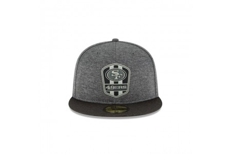 SAN FRANCISCO 49ERS NFL SIDELINE ROAD 59FIFTY FITTED - Sale