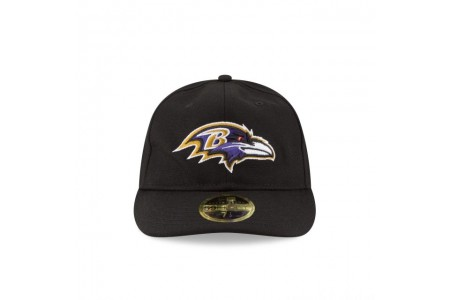 BALTIMORE RAVENS FAN FIT RETRO CROWN 59FIFTY FITTED - Sale