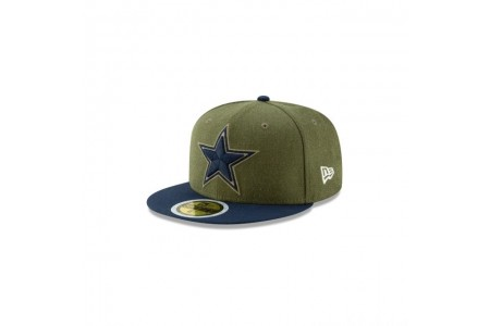 DALLAS COWBOYS SALUTE TO SERVICE KIDS 59FIFTY FITTED
