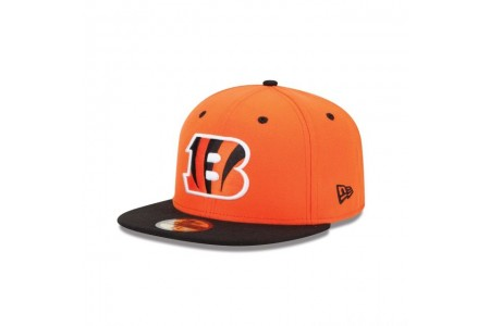 CINCINNATI BENGALS 2TONE 59FIFTY FITTED