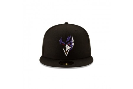 BALTIMORE RAVENS NFL LOGO ELEMENTS 59FIFTY FITTED - Sale
