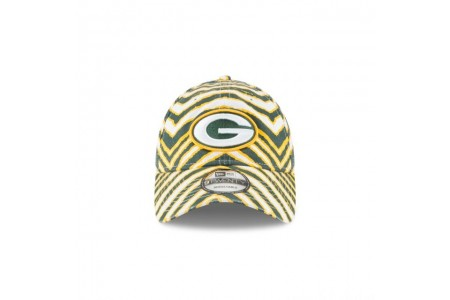 Black Friday Sale GREEN BAY PACKERS ZUBAZ ALLOVER 9TWENTY ADJUSTABLE