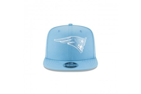 NEW ENGLAND PATRIOTS SKY BLUE HIGH CROWN 9FIFTY SNAPBACK - Sale