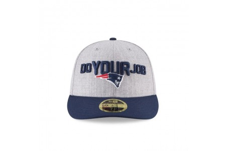 NEW ENGLAND PATRIOTS NFL DRAFT ON STAGE LOW PROFILE 59FIFTY FITTED - Sale