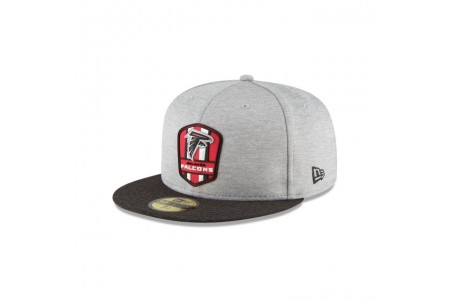Black Friday Sale - ATLANTA FALCONS OFFICIAL SIDELINE ROAD KIDS 59FIFTY FITTED