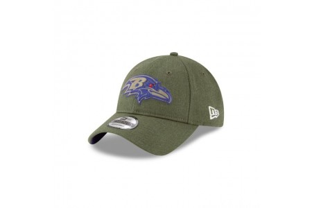 BALTIMORE RAVENS SALUTE TO SERVICE KIDS 9TWENTY ADJUSTABLE - Sale