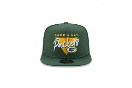 GREEN BAY PACKERS FRESH FRONT HIGH CROWN 9FIFTY SNAPBACK