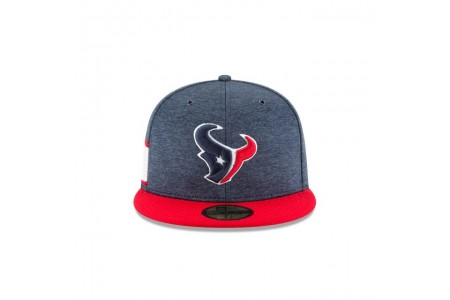 HOUSTON TEXANS OFFICIAL SIDELINE HOME KIDS 59FIFTY FITTED