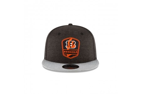 Black Friday Sale - CINCINNATI BENGALS OFFICIAL SIDELINE ROAD KIDS 9FIFTY SNAPBACK
