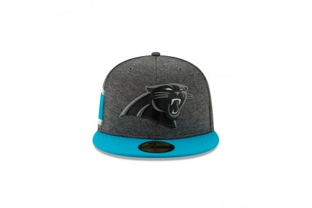CAROLINA PANTHERS GRAPHITE SIDELINE HOME 59FIFTY FITTED