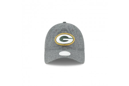 WOMENS GREEN BAY PACKERS MELTON WOOL 9TWENTY ADJUSTABLE