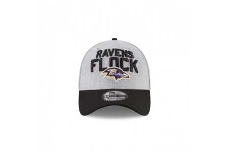 BALTIMORE RAVENS NFL DRAFT 39THIRTY STRETCH FIT