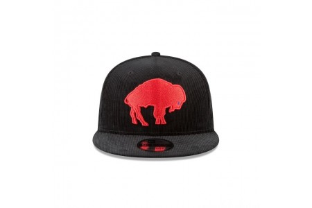 BUFFALO BILLS BLACK CORDUROY 9FIFTY SNAPBACK - Sale
