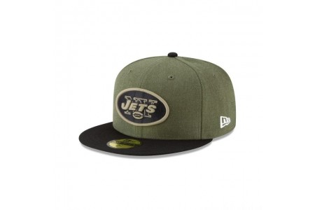 NEW YORK JETS SALUTE TO SERVICE 59FIFTY FITTED - Sale
