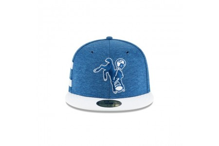 INDIANAPOLIS COLTS OFFICIAL SIDELINE HOME 59FIFTY FITTED