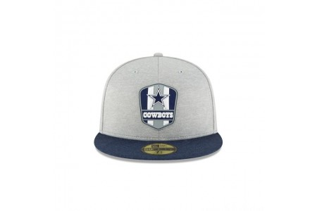 DALLAS COWBOYS OFFICIAL SIDELINE ROAD 59FIFTY FITTED