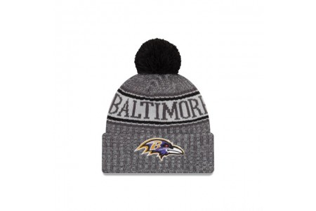 BALTIMORE RAVENS GRAPHITE COLD WEATHER SPORT KNIT - Sale