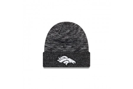 DENVER BRONCOS BLACK COLD WEATHER TOUCHDOWN KNIT - Sale