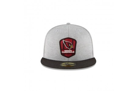 ARIZONA CARDINALS OFFICIAL SIDELINE ROAD 59FIFTY FITTED
