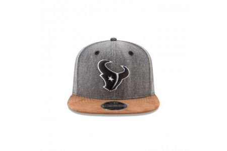 HOUSTON TEXANS BUFFALO PLAID 9FIFTY SNAPBACK