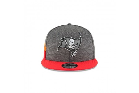 TAMPA BAY BUCCANEERS GRAPHITE SIDELINE HOME 9FIFTY SNAPBACK - Sale