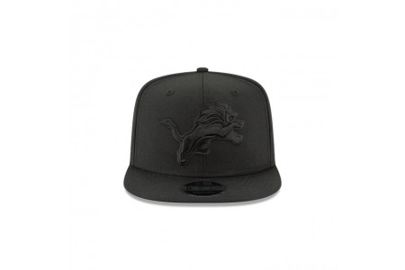Black Friday Sale DETRIOT LIONS BLACK ON BLACK HIGH CROWN 9FIFTY SNAPBACK