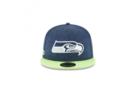 SEATTLE SEAHAWKS OFFICIAL SIDELINE HOME 59FIFTY FITTED - Sale