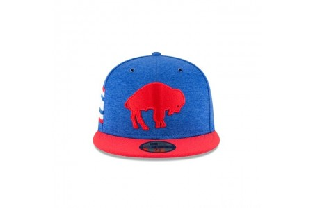 BUFFALO BILLS OFFICIAL SIDELINE HOME 59FIFTY FITTED