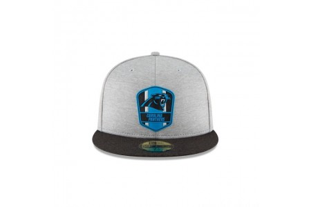 CAROLINA PANTHERS OFFICIAL SIDELINE ROAD 59FIFTY FITTED - Sale