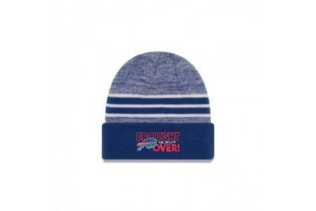 BUFFALO BILLS PLAYOFF DROUGHT CUFF KNIT - Sale