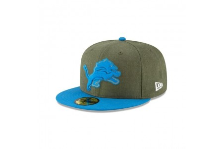 DETROIT LIONS SALUTE TO SERVICE KIDS 59FIFTY FITTED