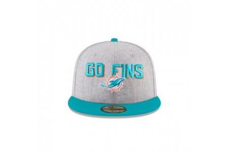 MIAMI DOLPHINS NFL DRAFT 59FIFTY FITTED - Sale
