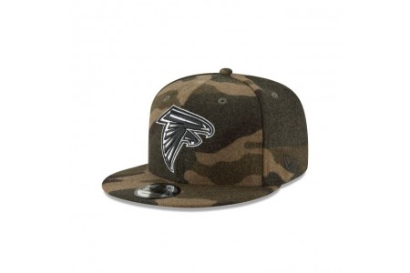 ATLANTA FALCONS NFL CAMO MELTON 9FIFTY SNAPBACK - Sale