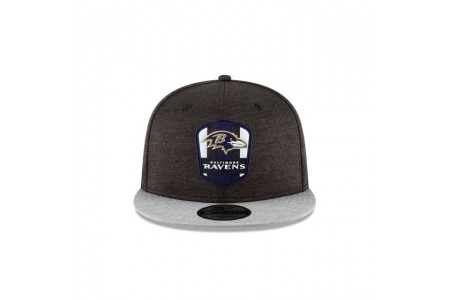 BALTIMORE RAVENS OFFICIAL SIDELINE ROAD 9FIFTY SNAPBACK - Sale