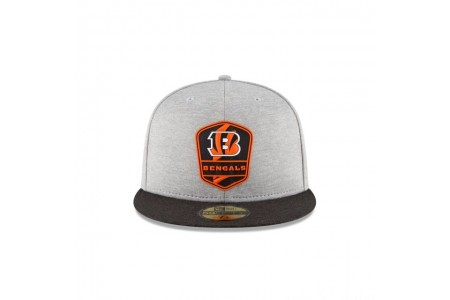 CINCINNATI BENGALS OFFICIAL SIDELINE ROAD 59FIFTY FITTED
