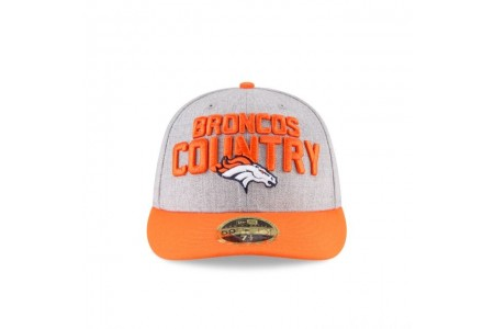 DENVER BRONCOS NFL DRAFT ON STAGE LOW PROFILE 59FIFTY FITTED - Sale