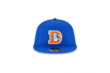 DENVER BRONCOS WOOL RETRO CROWN 59FIFTY FITTED