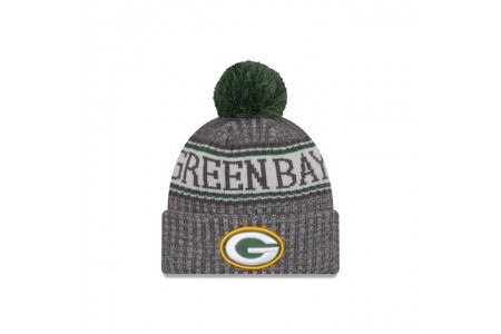 GREEN BAY PACKERS GRAPHITE COLD WEATHER SPORT KNIT