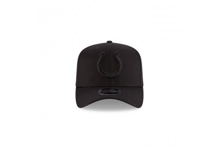 INDIANAPOLIS COLTS BLACK ON BLACK STRETCH SNAP 9FIFTY SNAPBACK - Sale