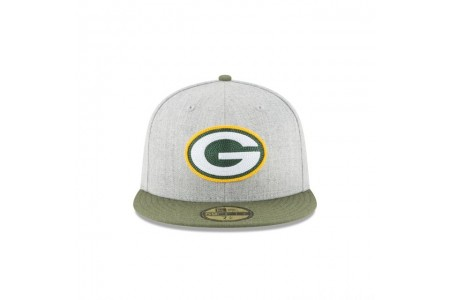Black Friday Sale GREEN BAY PACKERS HEATHER CRISP 59FIFTY FITTED