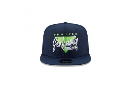 SEATTLE SEAHAWKS FRESH FRONT HIGH CROWN 9FIFTY SNAPBACK - Sale